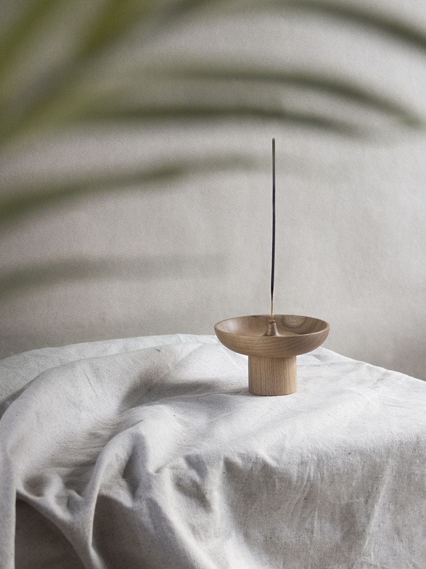 incense holder_maple wood IH003